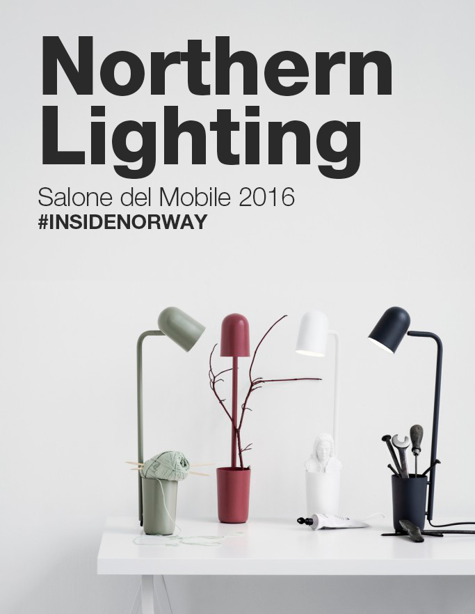 INSIDE NORWAY Northern Lighting al Salone del Mobile 2016