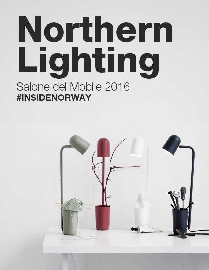 INSIDE NORWAY Northern Lighting al Salone del Mobile 2016