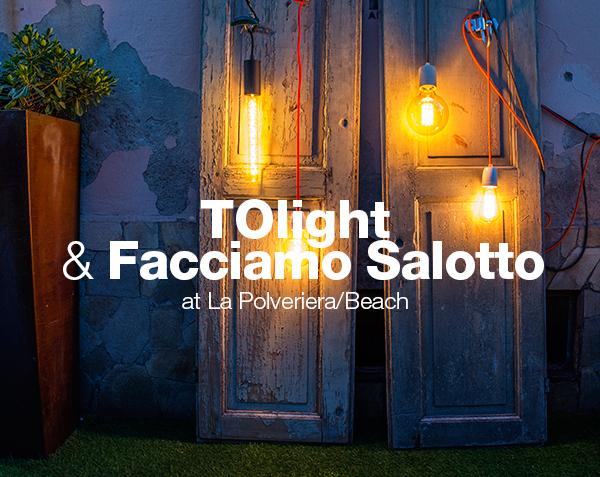 Evento TOlight e Facciamo Salotto