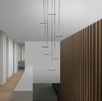 01.5 Pablo Designs Sky Solo Chandelier Stairway Environmental Image_300